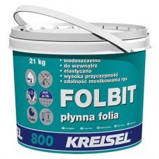 Жидкая гидроизоляционная пленка FOLBIT 800 (ведро 21 кг.) Kreisel